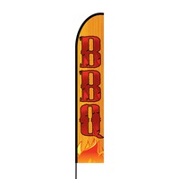 BBQ Flex Banner EVO Flag Single Sided Print