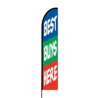 Best Buys Promotion Flex Banner EVO Flag Single Sided Print