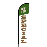 Move in Special Flex Banner Flag - 16ft (Single Sided)