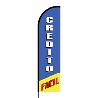 Credito Facil Flex Banner Flag - 16ft (Single Sided)