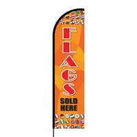 Flags Sold Here Flex Banner Flag - 16ft (Single Sided)