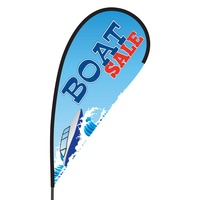 Boat Sale Flex Blade Flag - 09' Single Sided