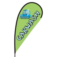 Car Wash Flex Blade Flag - 09' Single Sided