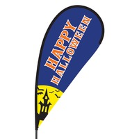 Happy Halloween Flex Blade Flag - 09' Single Sided