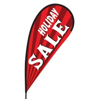 Holiday Sale Flex Blade Flag - 09' Single Sided