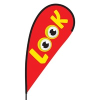 Look Flex Blade Flag - 09' Single Sided