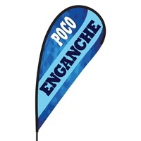 Poco Enganche Flex Blade Flag - 09' Single Sided