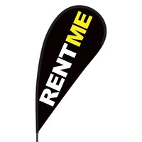 Rent Me Flex Blade Flag - 09' Single Sided