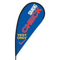 Smog Check Flex Blade Flag - 09' Single Sided