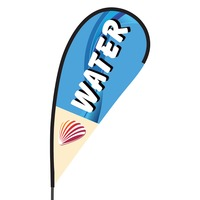 Water Flex Blade Flag - 09' Single Sided