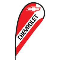 Chevrolet Flex Blade Flag - 09' Single Sided