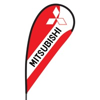 Mitsubishi Flex Blade Flag - 09' Single Sided