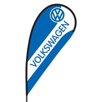 Volkswagen Flex Blade Flag - 09' Single Sided
