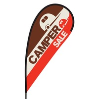 Camper Sale Flex Blade Flag - 09' Single Sided