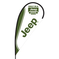 Jeep Flex Blade Flag - 09' Single Sided