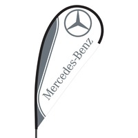 Mercedes Flex Blade Flag - 09' Single Sided