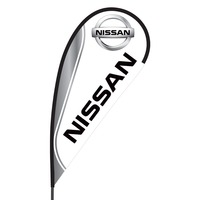 Nissan Flex Blade Flag - 09' Single Sided
