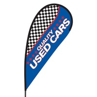 Quality Used Cars Flex Blade Flag - 09' Single Sided