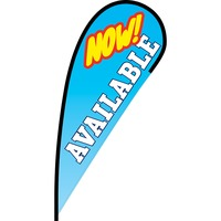Now Available Flex Blade Flag - 12'