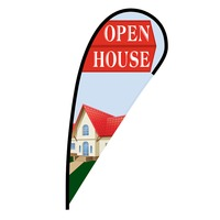 Open House Flex Blade Flag - 12'