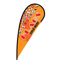 Flags Sold Here Flex Blade Flag - 12'
