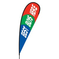 Best Buys Here Flex Blade Flag - 15'