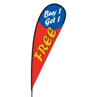 Buy 1 Get 1 Free Flex Blade Flag - 15'