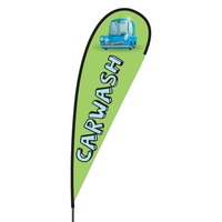 Car Wash Flex Blade Flag - 15'