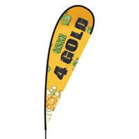 Cash 4 Gold Flex Blade Flag - 15'