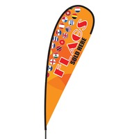 Flags Sold Here Flex Blade Flag - 15'