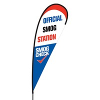 Official Smog Station Flex Blade Flag - 15'