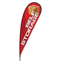 Self Storage Flex Blade Flag - 15'