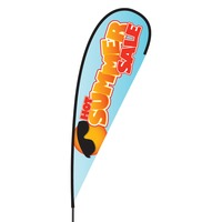 Summer Sale Flex Blade Flag - 15'