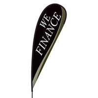 We Finance Flex Blade Flag - 15'