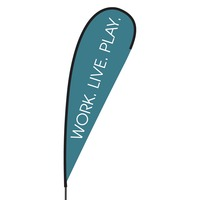 Work Live Play Flex Blade Flag - 15'