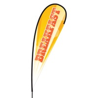 Breakfast Flex Blade Flag - 15'