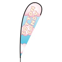 Cotton Candy Flex Blade Flag - 15'