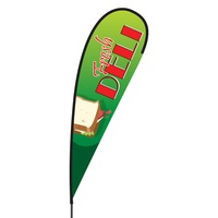 Fresh Deli Flex Blade Flag - 15'