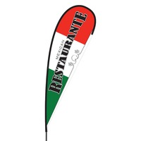 Mexican Restaurant Flex Blade Flag - 15'