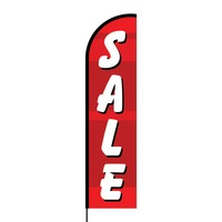 Sale Flex Banner Flag - 16ft (Single Sided)