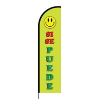 Si Se Puede Flex Banner Flag - 16ft (Single Sided)