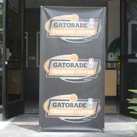 "Large X-Banner Stand -Single Sided (48"" x 80"") CLEARANCE"