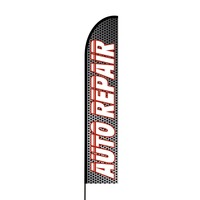 Auto Repair Flex Banner EVO Flag Single Sided Print