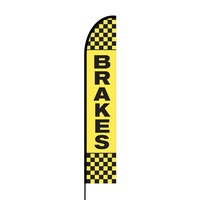 Brakes Flex Banner EVO Flag Single Sided Print