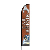 Car Repair Flex Banner EVO Flag Single Sided Print