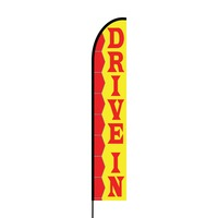Drive In Flex Banner EVO Flag Single Sided Print
