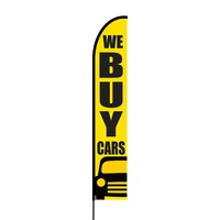 We Buy Cars Flex Banner EVO Flag Single Sided Print