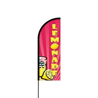 Lemonade Flex Banner Flag - 11ft