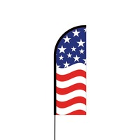 American Flex Banner Flag - 11ft