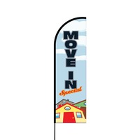Move In Special Flex Banner Flag - 14 (Single Sided)